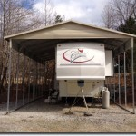 top notch metals rv cover with a gable image1