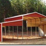 top notch metal products ban style carport without doors