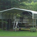 top notch metal products classic style large boat carport
