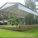 A FrameStyle RV Large Carport